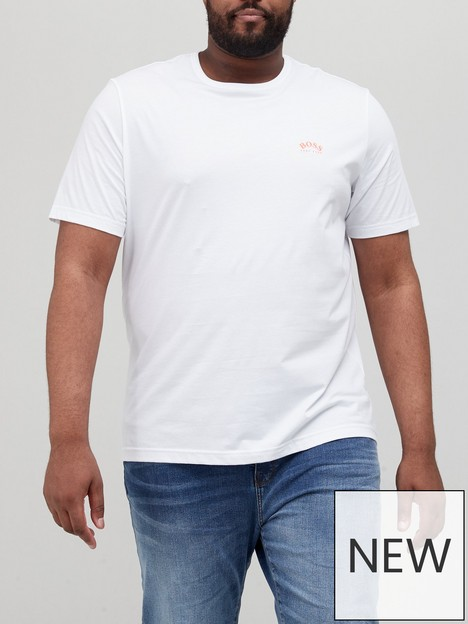 boss-big-amp-tallnbspcurved-small-logo-t-shirt-whitenbsp
