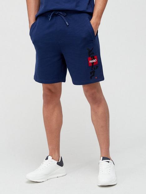 hugo-dilson-calligraphy-logo-jersey-shorts-indigonbsp