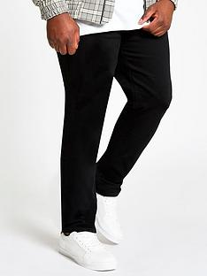 river-island-big-and-tallnbspsid-skinny-fit-jeans-black