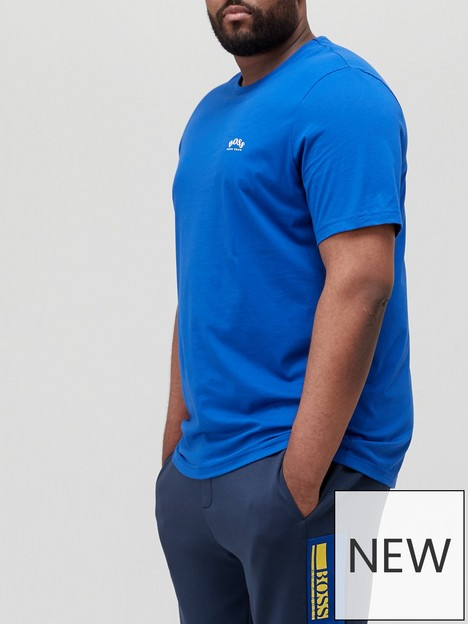 boss-big-amp-tallnbspcurved-small-logo-t-shirt-medium-bluenbsp