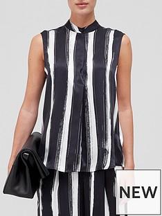 equipment-therese-sleeveless-blouse-black