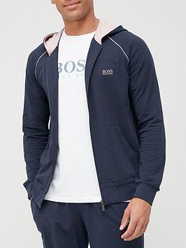 boss-mix-and-match-lounge-zip-through-hoodie-navy