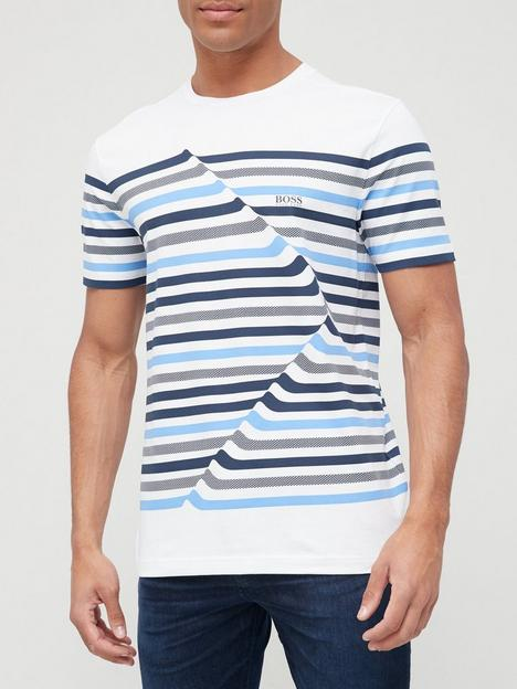 boss-tee-6-stripe-t-shirt-white
