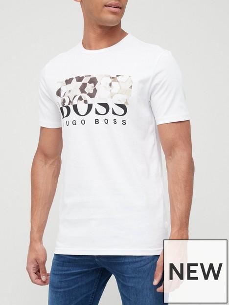 boss-teally-large-logo-t-shirt-white