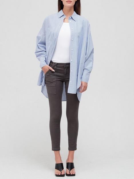 joie-paris-zip-detail-skinny-trousers-grey