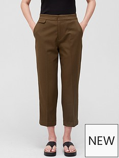 equipment-noemi-tailored-trousers-green