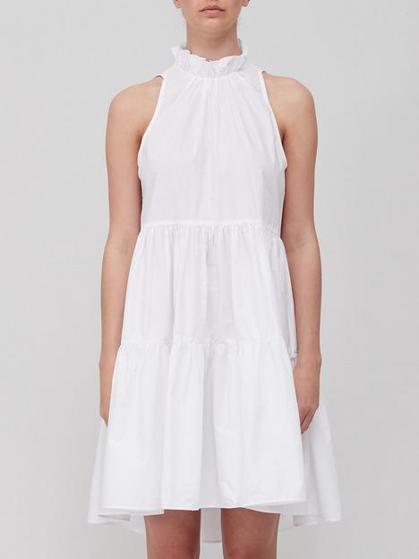 joie-carlo-ruffle-neck-detailnbspdress-white