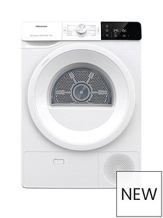 hisense-hisense-dhge901-9kg-heat-pump-tumble-dryer