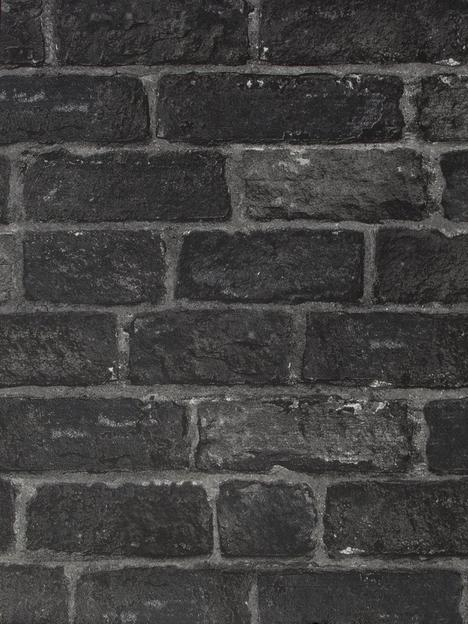 fresco-house-brick-charcoal-wallpaper