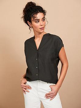 mint-velvet-easy-resort-shirt-khaki