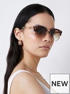river-island-chain-arm-sunglasses-brown