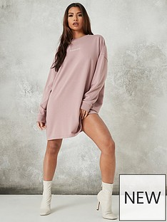 missguided-missguided-basic-sweater-dress-missguided