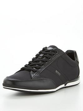 boss-saturn-low-profile-nylon-trainers-blacknbsp