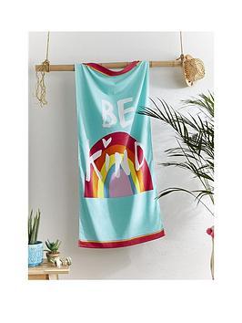 catherine-lansfield-catherine-lansfield-be-a-raindbow-beach-towel