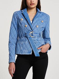 river-island-smart-quilted-denim-jacket-bright-blue