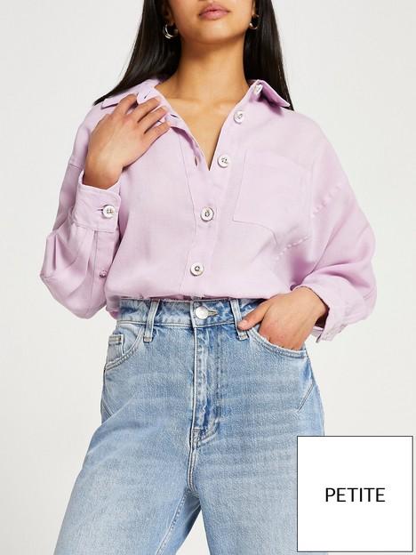 ri-petite-long-sleeve-shirtnbsp--lilac
