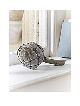 cox-cox-faux-grey-artichoke-ornament