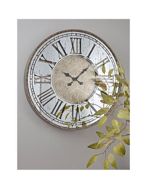 cox-cox-mirrored-roman-clock