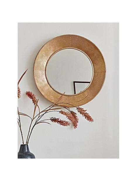 cox-cox-round-textured-frame-mirror