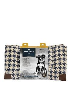 rosewood-tall-talls-fleece-top-houndstooth-pet-bed-large