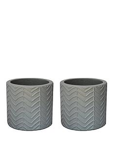 ivyline-pack-of-2-wave-grey-cement-planters