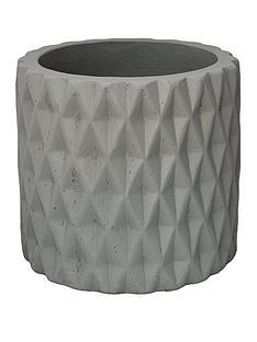 ivyline-diamond-grey-cement-planter