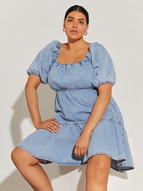 ri-plus-plus-cut-out-back-denim-smock-dress--light-blue