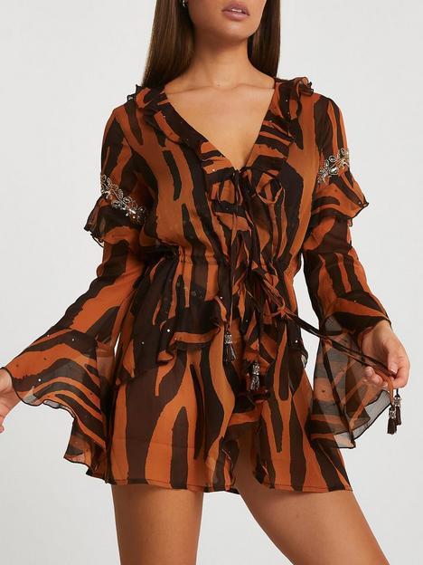 river-island-cover-up-dress-tiger-print