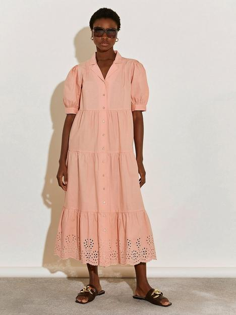 river-island-oversized-shirt-dress-apricot