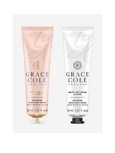 grace-cole-grace-cole-signature-vanilla-blush-peony-and-white-nectarine-pear-softening-hand-nail-cream-duo