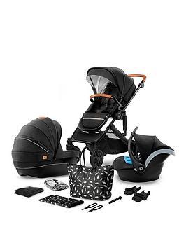 Kinderkraft Stroller Prime 2020 3 In 1 Travel System & Accessories - Black