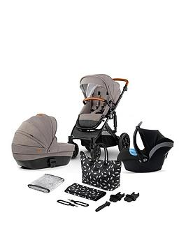 Kinderkraft Stroller Prime 2020 3 In 1 Travel System & Accessories - Beige