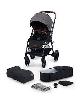 Kinderkraft Stroller Evolution Cocoon 2In1 - Platinum Grey