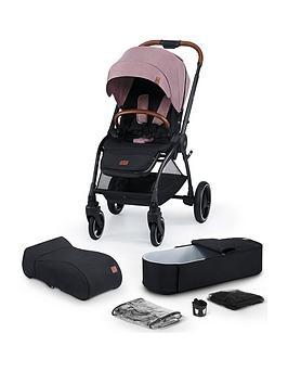 Kinderkraft Stroller Evolution Cocoon 2In1 - Mauvelous Pink