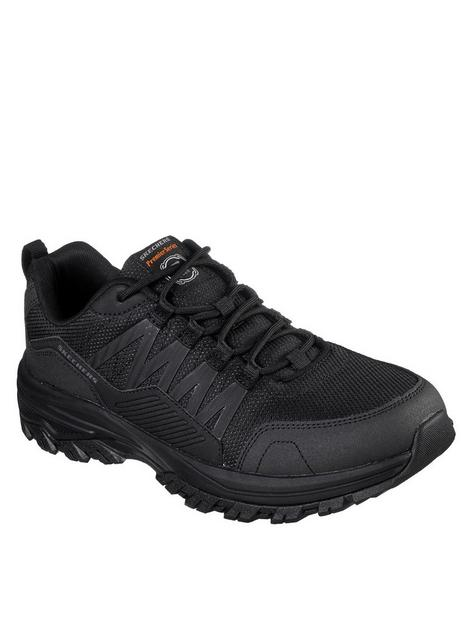 skechers-work-fannter-lace-up-shoes-black