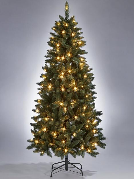 6ft-pre-lit-ozark-blue-spruce-slim-christmas-tree