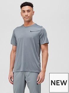 nike-dri-fit-short-sleevenbsphypernbspdry-top-black