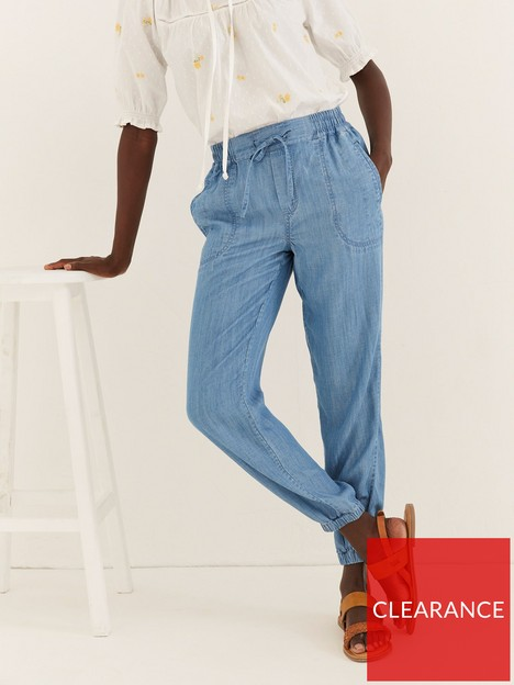 fatface-lyme-chambray-cuffed-trouser-blue