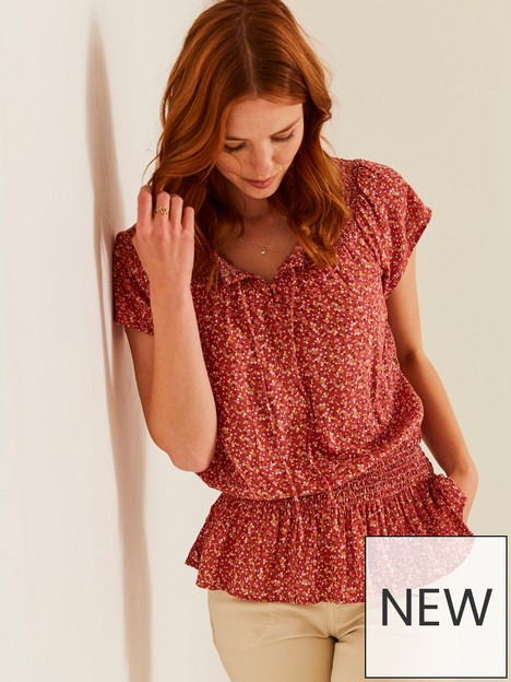 fatface-evelyn-floral-blouse-pink