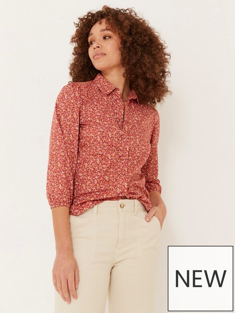 fatface-olive-ditsy-print-shirt--nbsppink