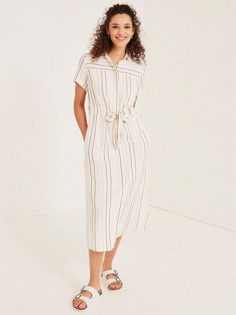 fatface-carey-stripe-shirt-midi-dress-ivory