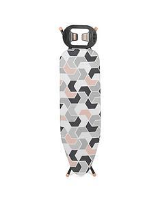 beldray-graphite-grey-design-print-ironing-board