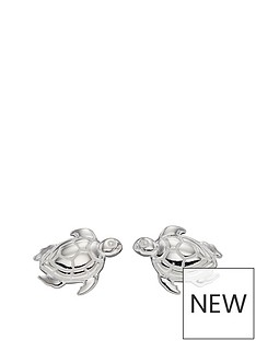 the-love-silver-collection-stering-silver-turtle-stud-earrings