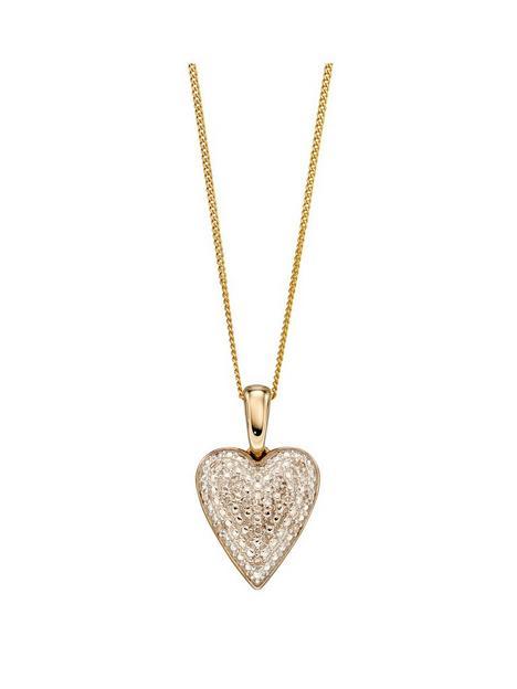 love-gold-9ct-yellow-gold-diamond-set-pave-heart-pendant