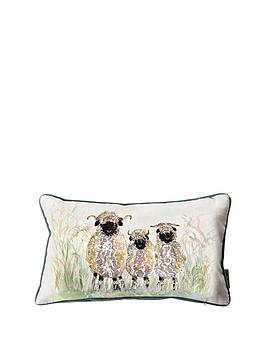 kilburn-scott-sheep-watercolour-cushion