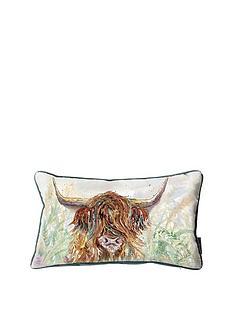 kilburn-scott-highland-cow-watercolour-cushion-ndash-30-x-50-cm