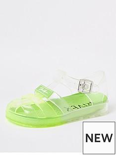 river-island-mini-boysnbspprolific-jelly-sandals-green