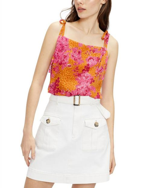 ted-baker-bow-detail-square-neck-cami-top-multi