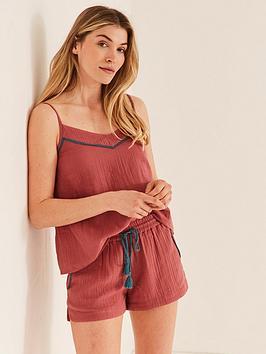 fatface-fatface-cotton-gauze-pyjama-cami-and-short-set-rose-pink