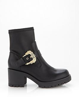 versace-jeans-couture-chunky-heel-boot-with-buckle-black